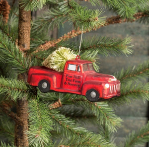 Pine Tree Farm Truck Ornament - Last 1!