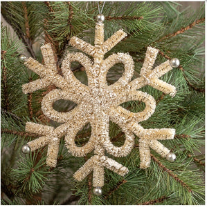 Winter Wonderland Snowflake - 9""