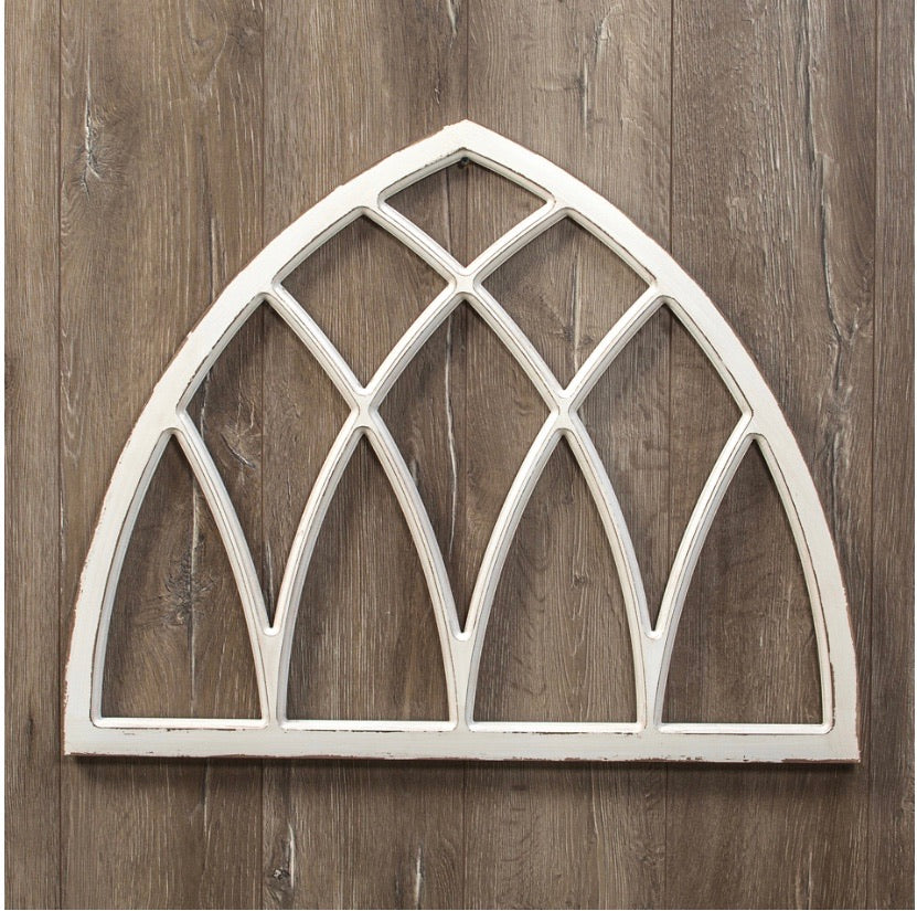 Arched Window Frame