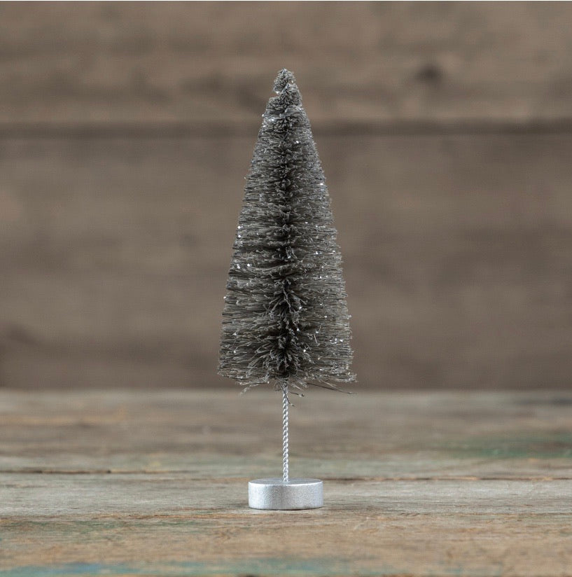 Pewter Bottlebrush Tree - 10