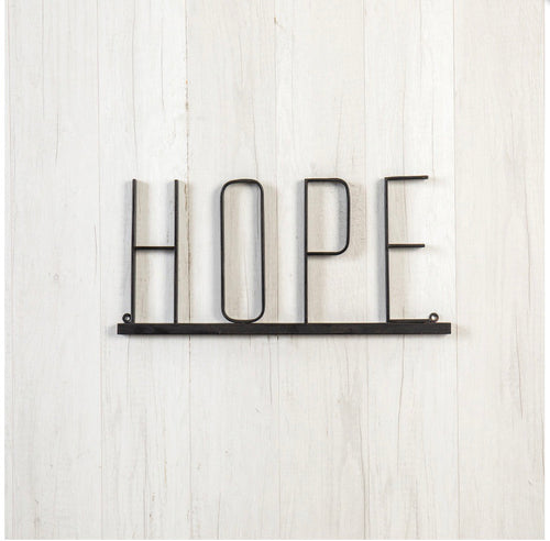 Hope Metal Sign