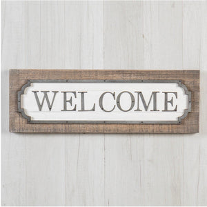 Rustic Welcome Sign