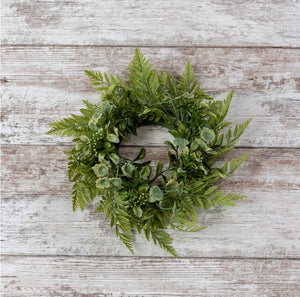 Fern Variety Wreath