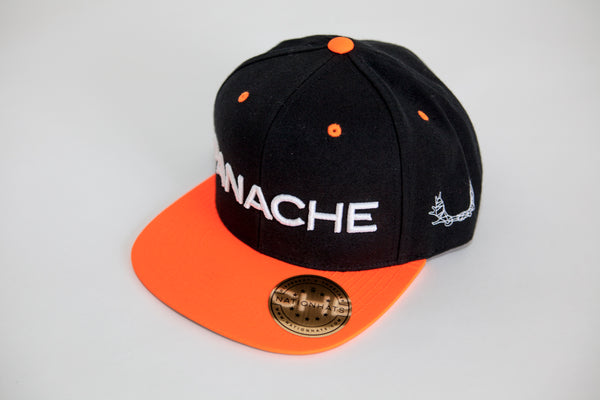 Casquette PANACHE orange fluo / Neon orange PANACHE cap