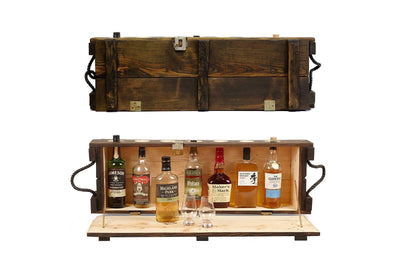 Mini Bar - Antique - Mini Bar | Liquor Cabinet | Military Memorabilia | Made in Canada - Boites de la paix - 1