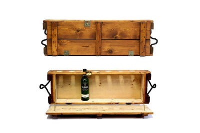 Mini Bar - Sienna - Wooden Bar Cabinet | Scotch bar | Whiskey bar | Bourbon bar - Boites de la paix - 1