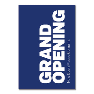 "Grand Opening - A-Frame Insert<BR>24.25 In. X 36.125 In.  <Font Color=""Red""> Other Colors Available </Font>"