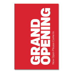 "GRAND OPENING - A-FRAME INSERT <br> 24.25 in. x 36.125 in. <br><font color=""red""> Other colors available </font>"