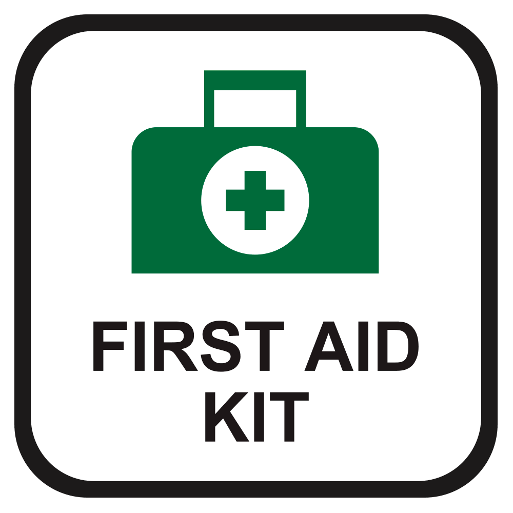 FIRST AID KIT, 10 in. x 10 in.