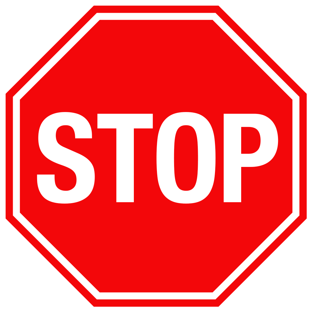 STOP SIGN <BR> 24 in. x 24 in.