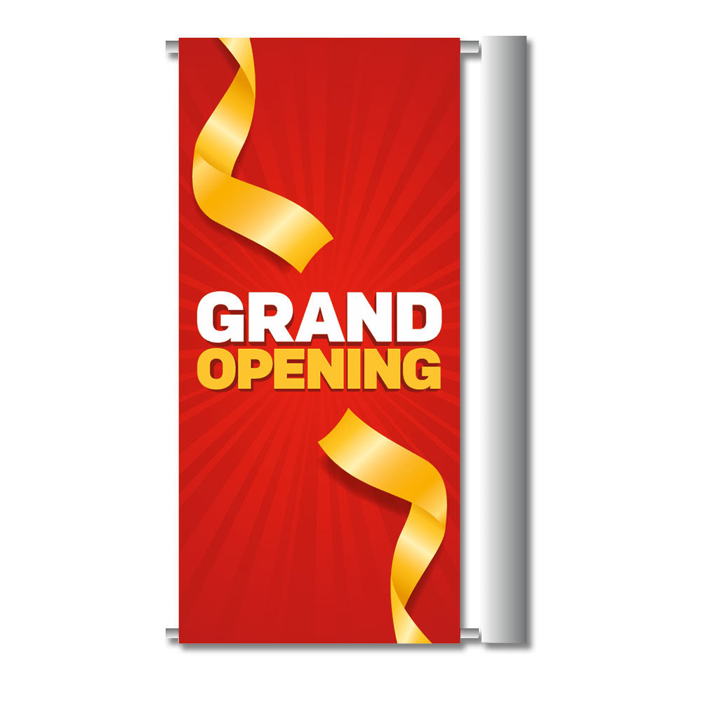 "Grand Opening - Gateway Banner   24 In. X 45.75 In.  <Font Color=""Red""> Other Colors Available </Font>"