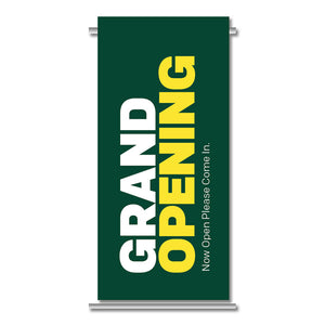 "GRAND OPENING - GATEWAY BANNER <br> 24 in. x 45.75 in. <br><font color=""red""> Other colors available </font>"
