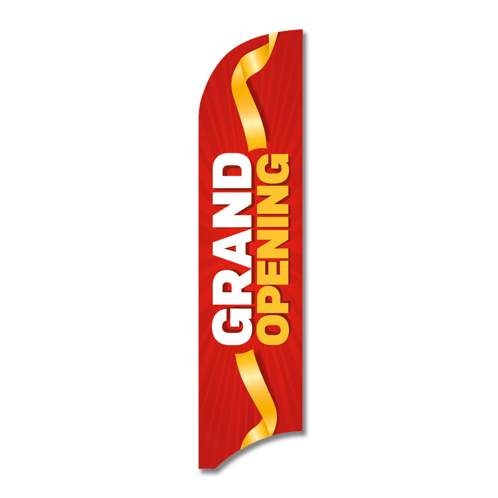 "Grand Opening - Blade Flag  13 Ft. <Font Color=""Red""> Other Colors Available </Font>"