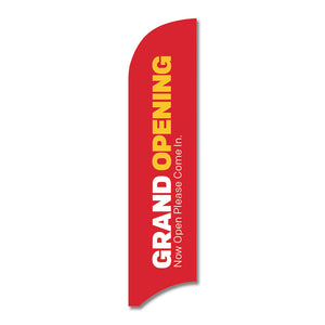 "GRAND OPENING - BLADE FLAG<br> 13 ft.<br><font color=""red""> Other colors available </font>"