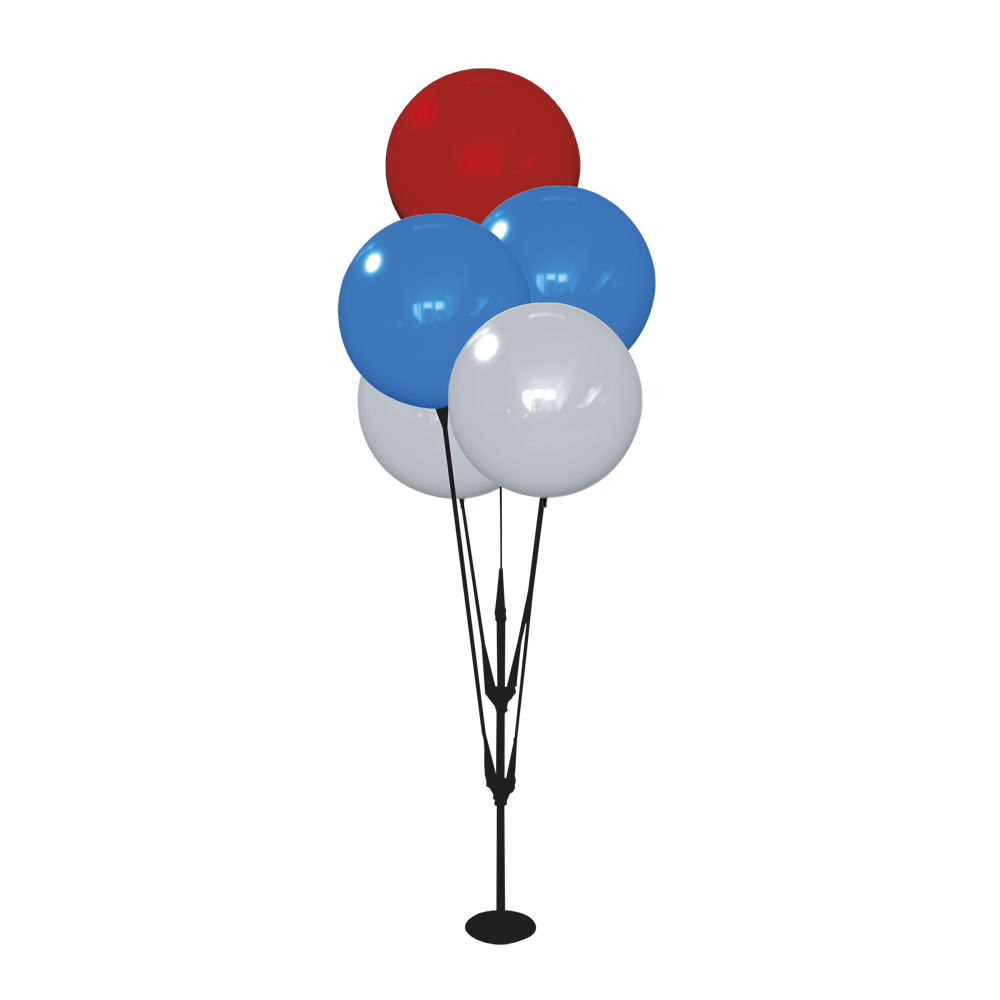 Display Balloons - Create Your Own Color(S)-Set Of 5 Cluster