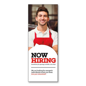 Now Hiring Job Fair - Booth Banner