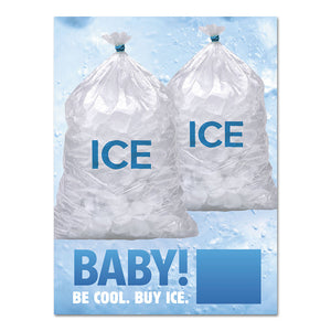 Ice Available - Exterior Decal - 30 In. X 40 In.