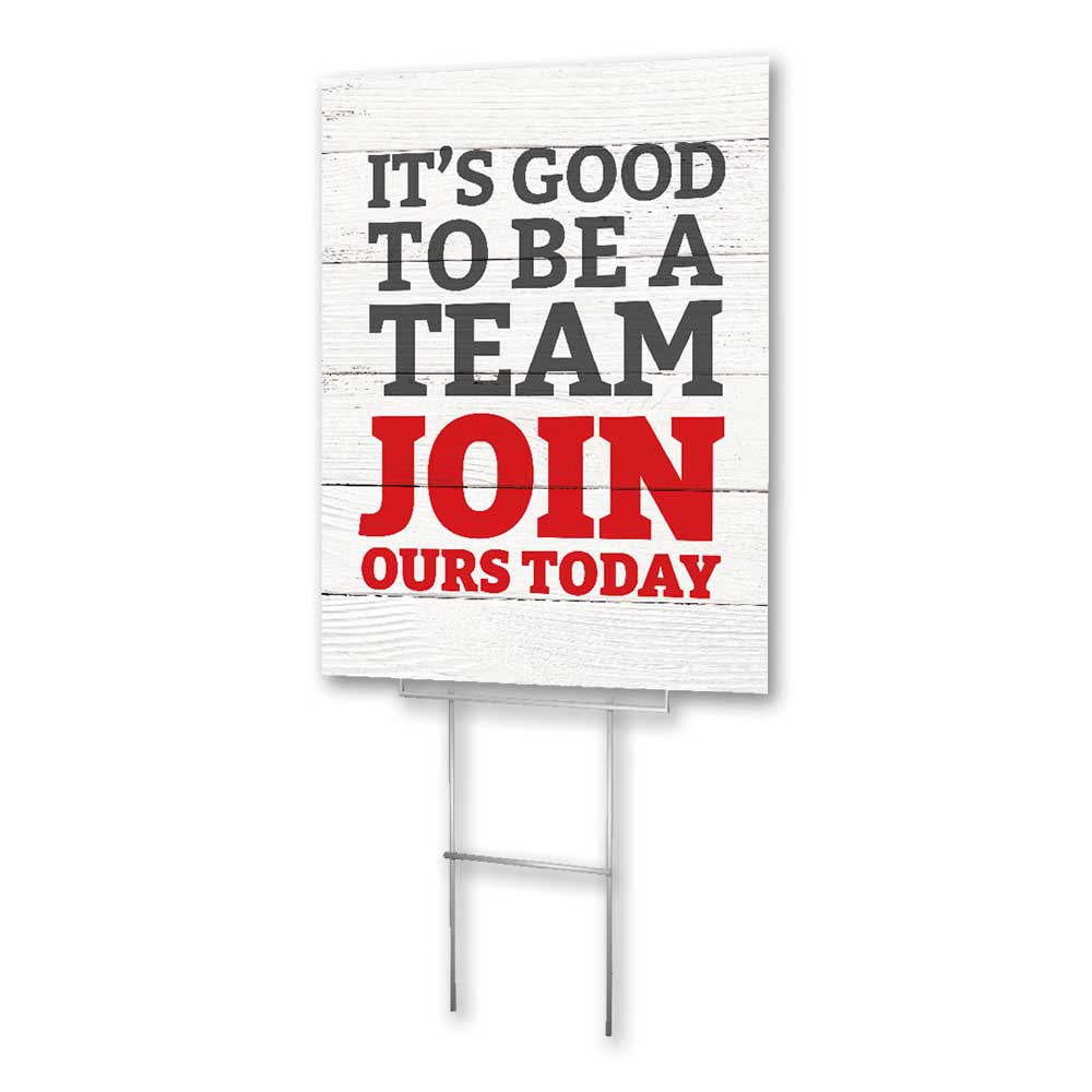 Join Our Team - Lawn Sign - 18 In. X 24 In.
