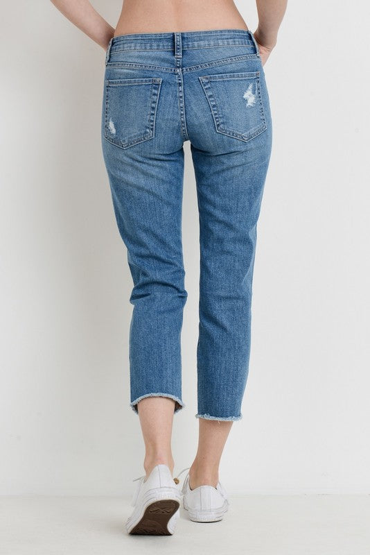 Destroyed Skinny Boyfriend Jean!!