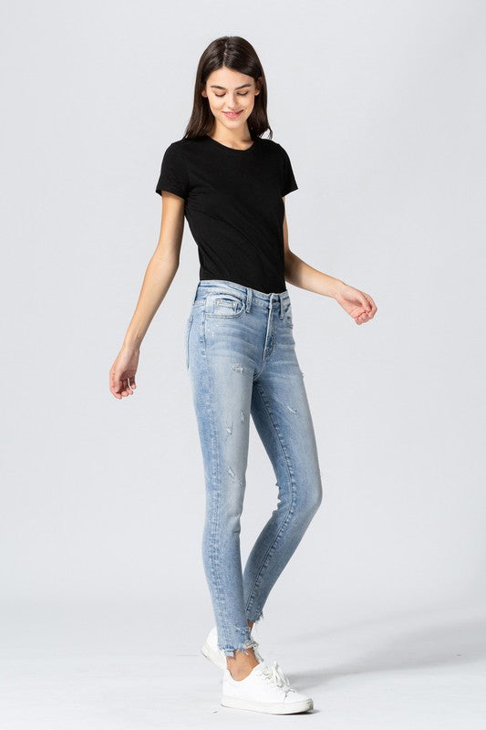 Vintage Vibes Distressed Skinny by Flying Monkey!!