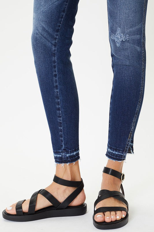 Blakely High Rise Ankle Skinny-Curvy by KanCan!!