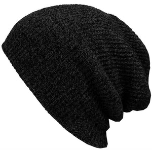 Men's Winter Solid Color Warm Soft Beanie