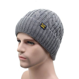 Men's Brand Winter Knitted Warm Hat