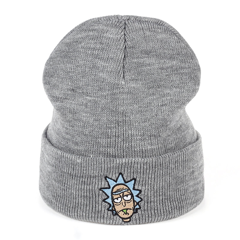 Rick and Morty Winter Drunk Rick Hat