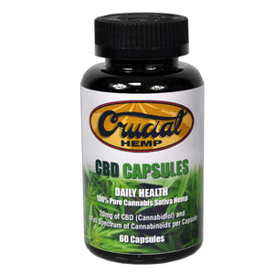 Cannabidiol (CBD) Hemp Powder Capsules