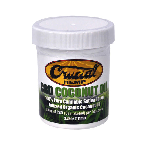 Cannabidiol (CBD) Enriched Coconut Oil