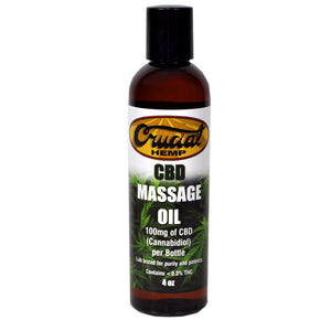 Cannabidiol (CBD) Enriched Massage Oil