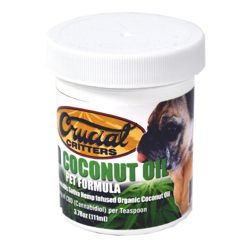 PET FORMULA Cannabidiol (CBD) Enriched Coconut Oil
