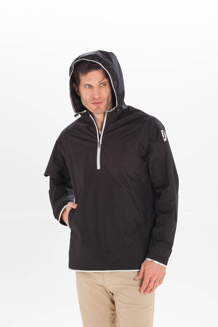 13-ONE Half Zip Lightweight Travel Jacket (Unisex)
