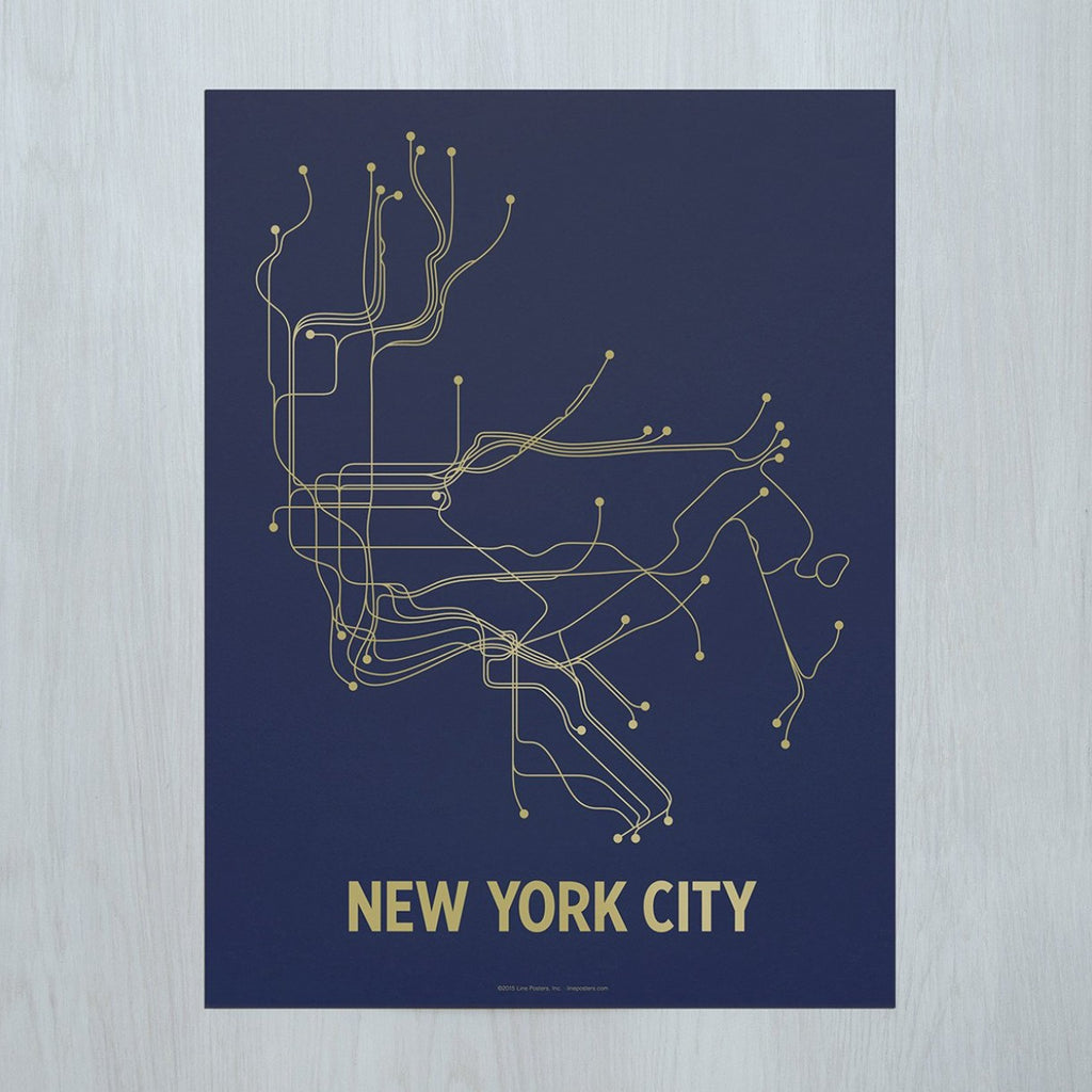 VILLAGE MERCANTILE New York City Poster
