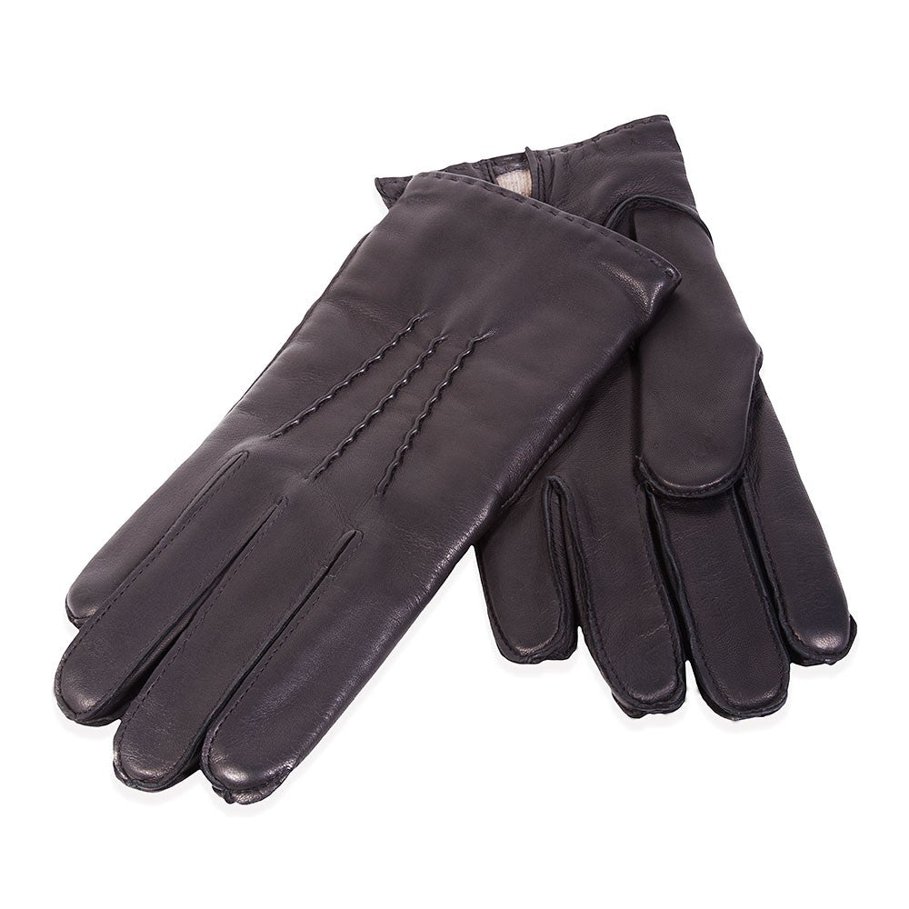 MANCINO TAILORS Hilts-Willard Ellery Cashmere-Lined Men's Gloves
