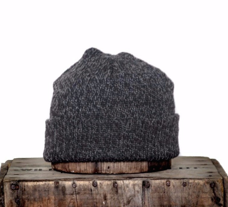 VILLAGE MERCANTILE Men's Ragg Wool Beanie