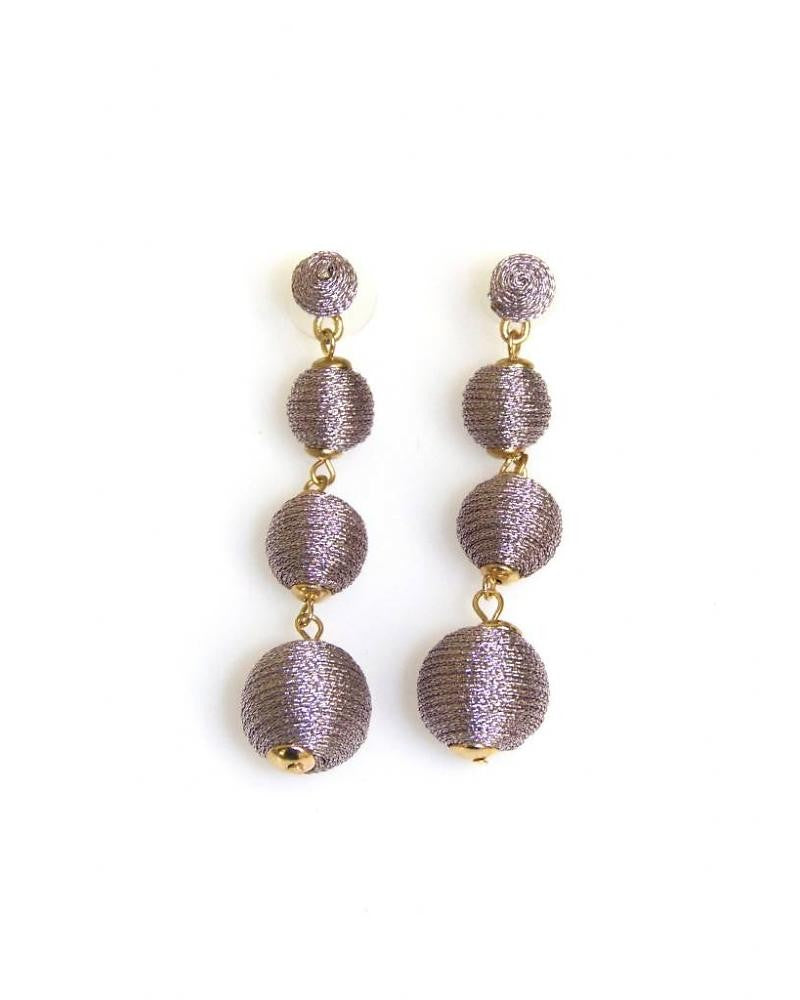 CLUTCH ON PALMER & PURCHASE The Stephanie Earring (Pair) in Amethyst