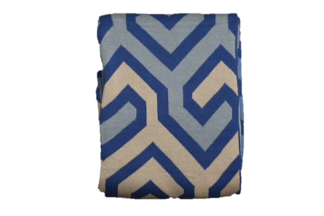 DECORATION DAY Cotton-Woven Throw Blanket