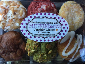 MUFFINteenys Assorted Homemade Mini Muffin Monthly Delivery