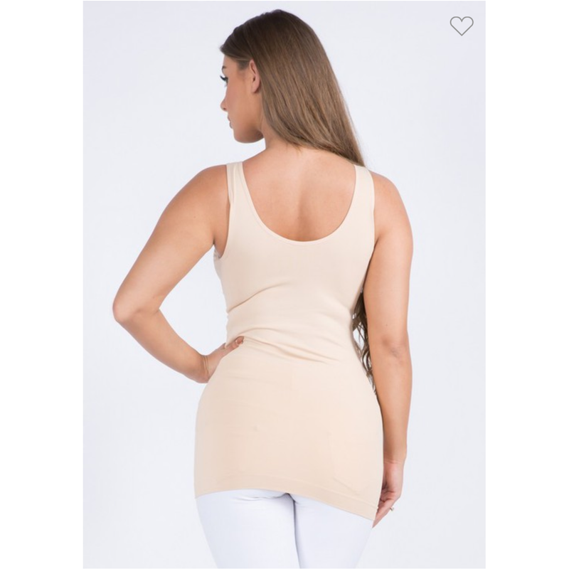 The Essential Seamless Tank Top Reversible