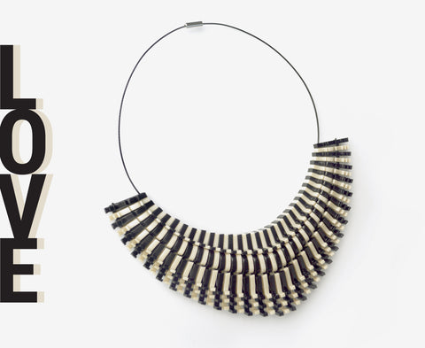 Black & Bone 'Love' Necklace - Arc