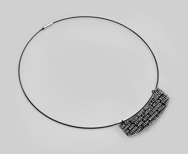 Black 'Women of History' Necklace
