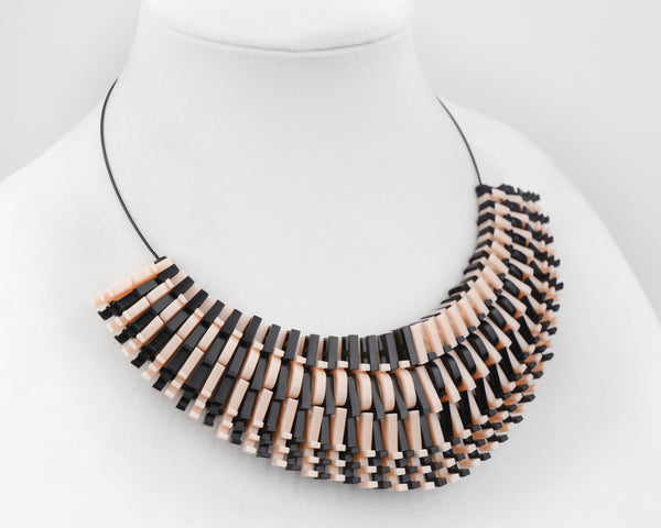 Blush & Black 'Love Hate' Necklace