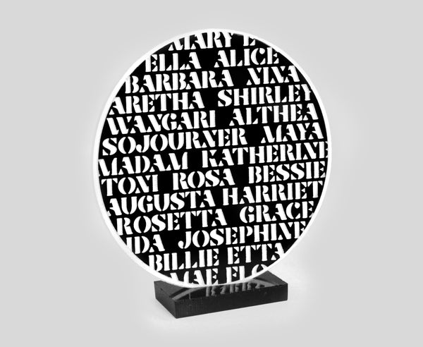 Black Women of History Plaque