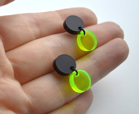 Krypto Mini Circles Earrings