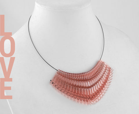 Blush 'Love' Necklace - Shorty