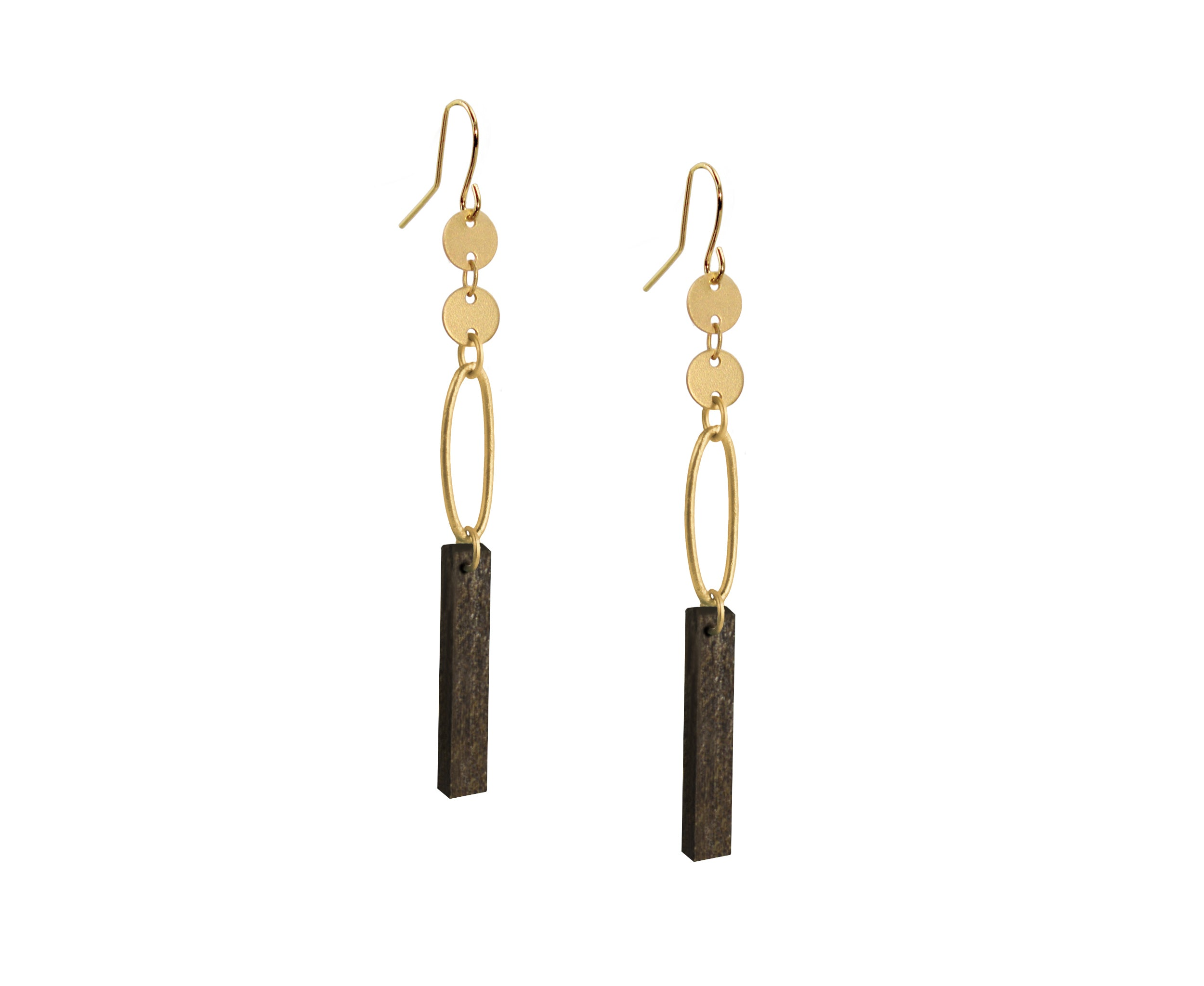 Ellipse Plank Earrings