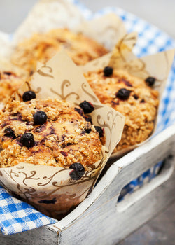 Back to Earth Weeds & Seeds Blueberry Oatmeal Muffins