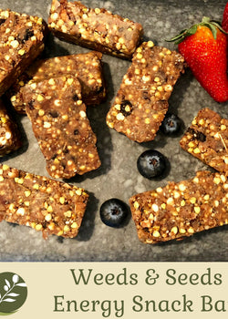 Weeds & Seeds Energy Snack Bars
