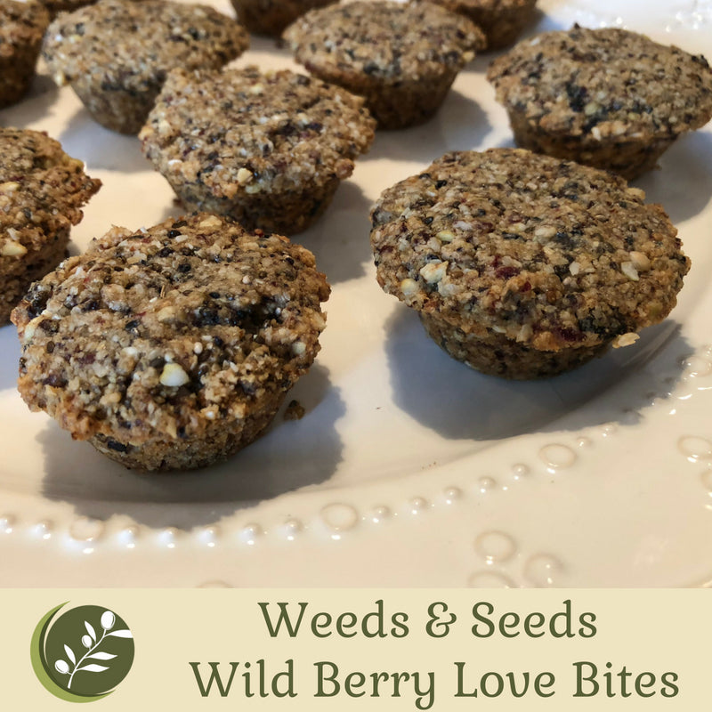 Weeds & Seeds Wild Berry Love Bites